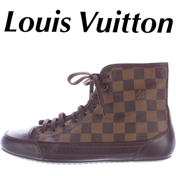6b6d5aeba59 Louis Vuitton Damier Shoes Sneakers Men's Size 8.5